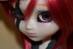 DSC_9080 (DollEmiou) Tags: red eye rouge doll noir full wig demon l pullip custo tatouage obitsu nezumi stica fullcusto pullipstica dollemiou