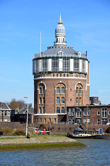 Rotterdam, watertoren uit 1873, Nederland 2015 (wally nelemans) Tags: holland rotterdam watertower nederland thenetherlands watertoren 2015 cbvandertak