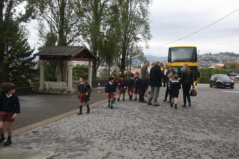 Visita de 3º de Infantil a Montecastelo