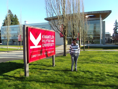 Director Mr. G.S.Kang in Kwantlen Polytechnic University, Surrey Canada