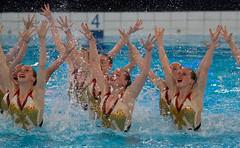 O5083556 (roel.ubels) Tags: swimming european ek alexander championships willem hoofddorp synchronised ec synchro synchronized syncronized 2015 sincro synchroonzwemmen leneuropeansynchronisedswimmingchampionscuphaarlemmermeer2015 europeanchampionscup2015