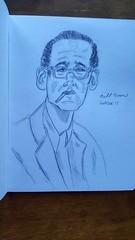 Bill (Wayne Wolfson) Tags: waynewolfson billevans drawing jazz peacepiece piano pencil sketch modal