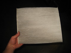 2013-2016 Nissan Pathfinder SUV - Checking & Replacing A/C Cabin Air Filter Element (paul79uf) Tags: 2013 2014 2015 2016 nissan pathfinder suv cabin air filter clean cleaning replace replacing replacement guide howto diy tutorial instructions steps part number como hacer cambiar limpiar filtro location glove box dashboard kick panel