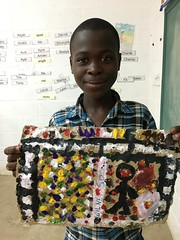 Wilnerson Baptist (Haiti Partners) Tags: childrensacademy 2016 july haiti entrepreneurship socialbusiness artscrafts papermaking