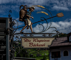 Sign Wagrain Austria (Blackburn lad1) Tags: sign metal austria