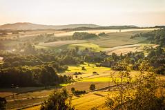 Pomocne (Bartek Kuzia) Tags: landscape village poland polska fields goldenhour bucolic devilsrock jeleniagra lowersilesia dolnylsk czartowskaskaa