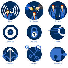 iPushPull website - Icon graphics (Simon Sharville) Tags: design illustration icon graphic website icons infographics