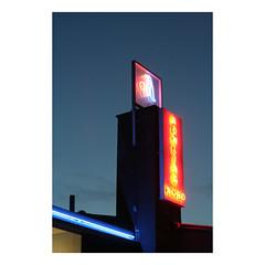 Bowling Nord, Helsingforsgade. Aarhus, Denmark (2005) (csinnbeck) Tags: bowling aarhus aarhusn n north sign neon denmark eos 350d 350 canon 2005 summer 50 ef50mm18 5018