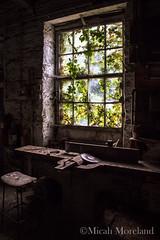 Abandoned Machine Shop (micahmoreland) Tags: old uk shadow england work dark rust decay ghost tools creepy abandon urbanexploration horror haunting machines dust derelict atmospheric northyorkshire mechanics urbex