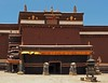Sakya Monastery, established in 1268AD (joeng) Tags: china tibet landscape places temple monastery sakyamonastery sakya lion animal people