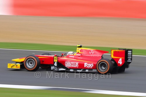Nyck de Vries in the ART Grand Prix car in the GP3 Race at the 2016 British Grand Prix