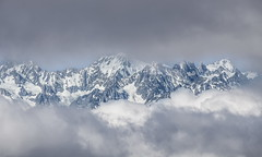 In between the clouds (faultypixel) Tags: alps switzerland verbier clouds mountains