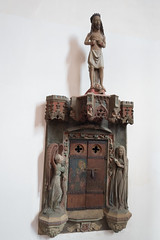 Christ and small religious door (quinet) Tags: 2014 allemagne christ christus deutschland germany medievalcrimeandpunishmentmuseum mittelalterlicheskriminalmuseum rothenburg