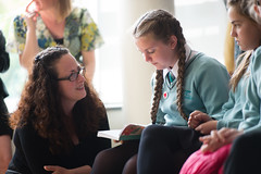 SpellingBeeFinal2016_km148 (routesintolanguages) Tags: uk wales kids modern competition aberystwyth using learning spelling welsh language foreign schoolkids talking schoolgirl schoolgirls pupil speaking vocabulary pupils spellingbee 2016 year7 europeaan wjec schoolkind langiages medrus