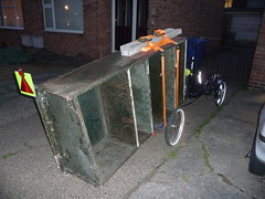 Shelves! (thermalsoareruk) Tags: trike tricycle trailer