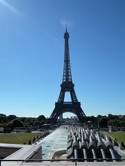 Eiffel Tower (Karl's Photography) Tags: paris france tower monument metal french landscapes nikon eiffeltower eiffel coolpix champsdemars worldsfair 1889 nikoncoolpix gustaveeiffel 1889worldsfair