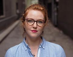 Sasha (Explore) (jeffcbowen) Tags: sasha street toronto redhead glasses explore abigfave
