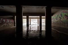 703_3121 (M Falkner) Tags: urban underground concrete tank flood drain management watershed pillars subterranean exploration sewer overflow ue urbex cso draining keelesdale