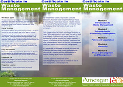 Amergin project - Flyer - Waste Management (front) (I-Man--10N) Tags: environment ireland celtic irish iconography tipperary