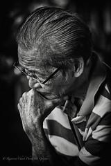 The Deep Thinker / 06736 (Raymond Chiok PhotoArt-Graphic) Tags: zeiss jena carl 135mm f35 sonnar raymondchiokphotoartgraphic