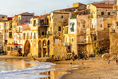 Cefalu (Explore) (Kevin R Thornton) Tags: d90 landscape travel sicily architecture italy 2016 city nikon cefalu cefal sicilia it