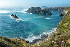 Mendocino Headlands (BlueVoter - thanks for 1.5M views) Tags: mendocino headlands ocean pacific waves arch