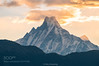 Machapuchare mountain in Nepal. (tycampbe) Tags: ifttt 500px sky landscape sunrise morning travel wallpaper tourism abstract beautiful view snow warm highlands dawn cloud peak photography famous journey environment trekking icon destination huge popular spectacular annapurna machapuchare nepal himalaya