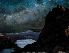GALLAXY MIRROR (pablolarreal) Tags: ecuador allyouneedisecuador nightscape photo photography camping picture adventure family lagoon lake treap volcano highlands mountain mountaineering best climbing goldenhour friends golden love longexposure hour sky trip trekking panorama panoramic vialactea