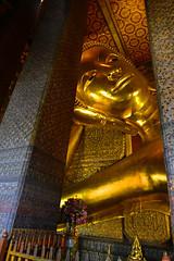 Wat Pho Bangkok Thailand Reclinging Buddha (Anoop Negi) Tags: thailand wat pho buddha reclining anoop negi travel ezee123 photo photography religion buddhism bangkok