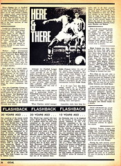 Goal Magazine - 27/06/1970 - Page 36 (The Sky Strikers) Tags: goal magazine world cup special mexico 1970 greatest soccer weekly magzine 1s 6d
