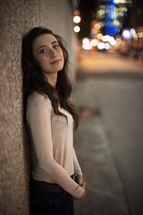 Nicole (Haddadios) Tags: portrait photoshoot portraiture downtown toronto oakville lakeshore gairloch gardens park nikon d800 nikkor bokeh 50mm ais ai f12 lens natural night light dusk sunset ontario canada