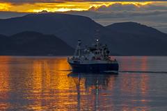 Norwegian whaler M-20-A (stein380 Thanks for over 4,2!! million views) Tags: norwegianwhaler sunset midnightsun tromsfylke dfjord nordnorge hvalfangst bt
