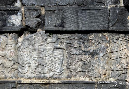 Chichen Itza Temple of the Jaguar