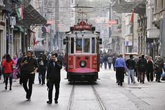 Taksim - Tnel (marin.tomic) Tags: istanbul turkey trkiye travel city urban tram tnel taksim nikon d90 europe asia holiday vacation street streetshot sightseeing