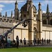 Filming on location in Oxford