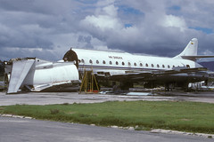 HK-3858X-1-SKBO-24SEP1997 (Alpha Mike Aviation Photography) Tags: bogota colombia skbo bog aerogolfo sud aviation se210 caravelle 10b hk3858x
