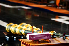 Namdroling Monastery, Bylakuppe (briejeshpatel) Tags: briejeshpatel canon canon7d l lens brijesh patel india karnataka coorg madikeri goldentemple namdrolingmonastery buddhistmonastery macro canon100mmf28lmacrolens closeup bokeh dof