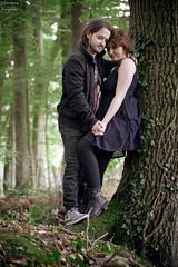Ronja und Dennis 5 (tanja jooonsen) Tags: paar people love harmonie harmony outdoor sweet forrest liebe kuss kiss twoesome lovers pair couple smile