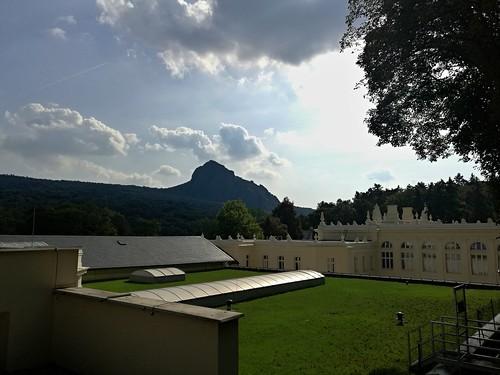 Pohled na Bořeň