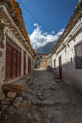 Empty Nepalese Street (Stewart Miller Photography) Tags: empty street scene nepal tibet