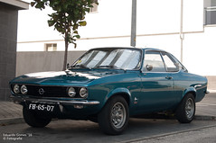 Manta (Eduardo F S Gomes) Tags: eduardo gomes manta opel a rwd classic car green blue ocean 1900 nikon d300s 1870 f45