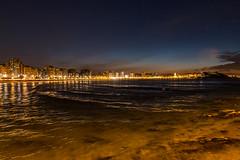 Anochece. San Lorenzo. Gijn. (David A.L.) Tags: asturias gijn anochecer playa playadesanlorenzo paisaje mar