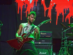 Exhumed (Stephen J Pollard (Loud Music Lover of Nature)) Tags: livemusic concertphotography guitarist exhumed guitarrista budburke