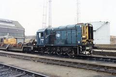 08361 (Sparegang) Tags: 08361 class08 350 oldoakcommon brblue britishrail westernregion