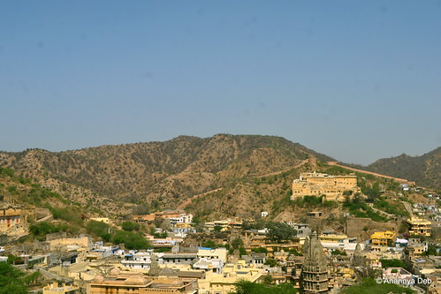 View from Amer Fort, February 2015