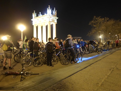 Велопарад в Волгограде