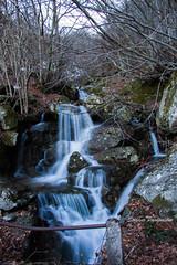 Cascatella (spooky81) Tags: italy water foglie canon woods italia liguria waterfalls acqua bosco cascata 50d