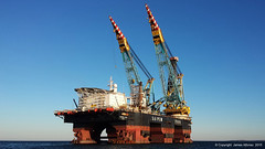 S7000 (TriEdge-James) Tags: construction s7000 burgas saipem jlay pipelay offshorevessel dpvessel