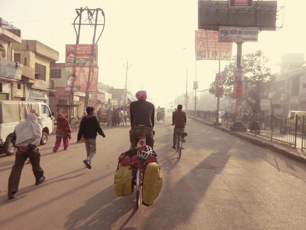 Sikh cyclist
