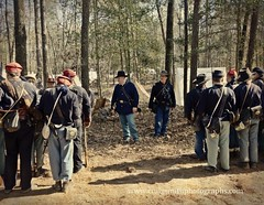 Instructions, Bentonville Reenactment, 2015 (www.craigsmithphotographs.com) Tags: camp union formation equipment civilwar marching soldiers artillery yankees campaign drill battles calvary confederates